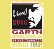 GARTH BROOKS WORLD TOUR 2016 Kids Tee