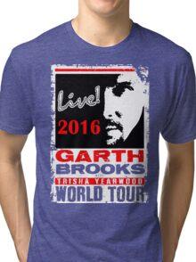GARTH BROOKS WORLD TOUR 2016 Tri-blend T-Shirt