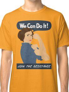 Leia The Riveter Classic T-Shirt
