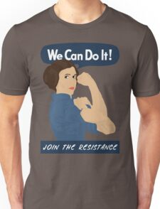 Leia The Riveter Unisex T-Shirt