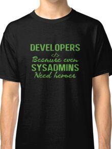 Developers hero Classic T-Shirt