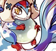 Lilith Dragon Form Chibi Sticker