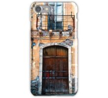 Sicilian Facade of Taormina iPhone Case/Skin