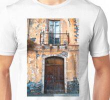 Sicilian Facade of Taormina Unisex T-Shirt