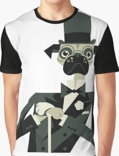 Pug Astaire Graphic T-Shirt