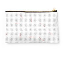 Word Search Puzzle LOVE Typographic Studio Pouch