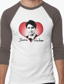 Justin Trudeau Men's Baseball ¾ T-Shirt