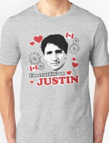 I'm Crushin' on Justin Trudeau Unisex T-Shirt
