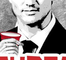 Trudeau is my Bro Sticker