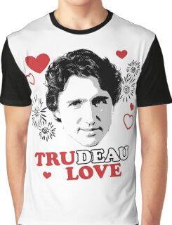 Trudeau Love/ Tru Love Graphic T-Shirt