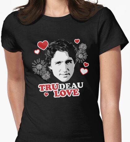 Trudeau Love/ Tru Love Womens Fitted T-Shirt