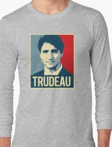 Trudeau Poster Art Long Sleeve T-Shirt