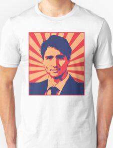 Justin Trudeau Propaganda Art Unisex T-Shirt