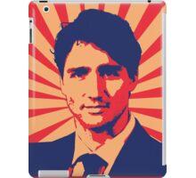 Justin Trudeau Propaganda Art iPad Case/Skin