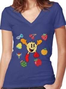 The Pac Women's Fitted V-Neck T-Shirt
