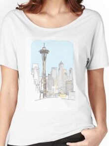 City tower Women's Relaxed Fit T-Shirt