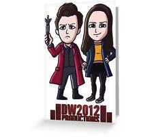 DoctorWho2012 Merchandise, Little Red & Meg Greeting Card