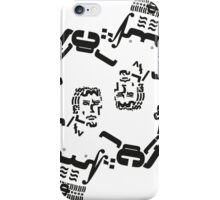 Boxer Rocky Balboa Typography Match iPhone Case/Skin