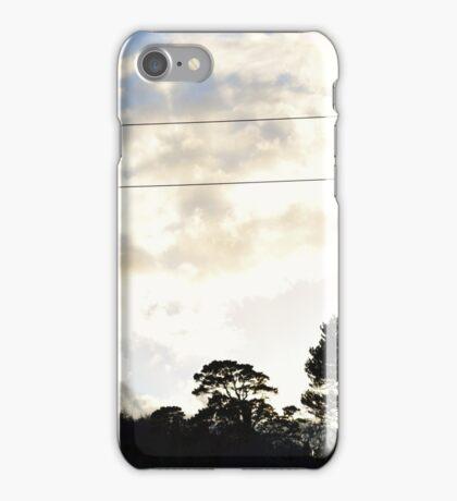Blue cloudy Skies iPhone Case/Skin