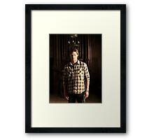 Sam Winchester Season 4 Framed Print