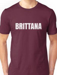 Brittana Black Unisex T-Shirt