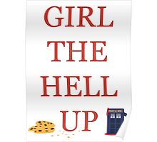 Carmilla Girl The Hell Up Poster