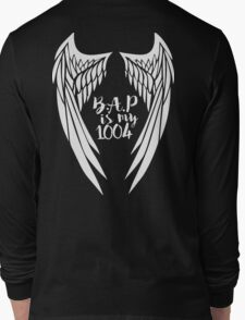 B.A.P is my 1004 - wings. Long Sleeve T-Shirt