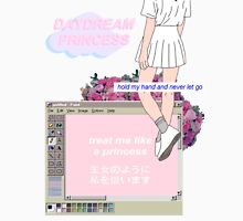 Princess Vaporwave AesthetIcs Womens Fitted T-Shirt