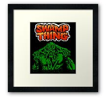 Swamp Thing (NES Title Screen) Framed Print
