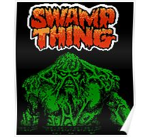 Swamp Thing (NES Title Screen) Poster