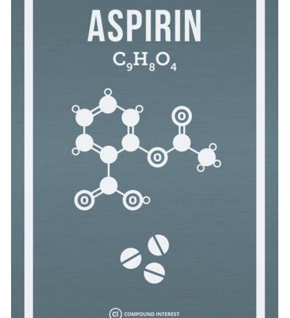 Aspirin Sticker