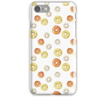 bright frosted donuts iPhone Case/Skin
