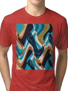 more and more wiggles Tri-blend T-Shirt