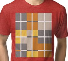 check check plaid Tri-blend T-Shirt