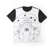Communication - Black and White Graphic T-Shirt