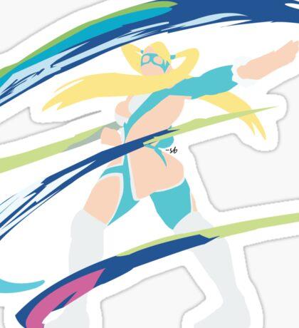 Rainbow Mika Sticker