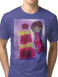 flower girl Tri-blend T-Shirt
