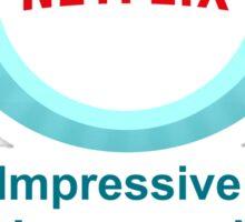 Netflix Binge Badge Sticker