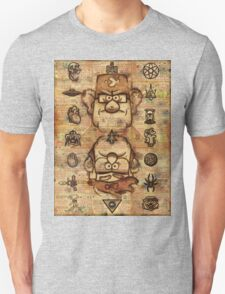 Twin Brothers - Gravity Falls Unisex T-Shirt