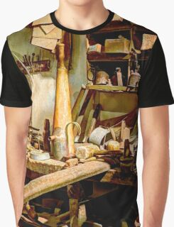 Tin Shed (HDR) Graphic T-Shirt