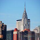 NYC - Chrysler & Met Life Buildings by John Schneider
