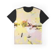planes in pink sky Graphic T-Shirt