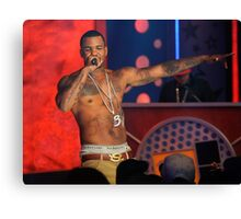 Rapper The Game Canvas Print