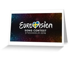Eurovision 2016 Greeting Card