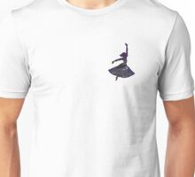 Dancing Stormy Night Girl Unisex T-Shirt