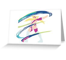 Rainbow Mika Alt 2 Greeting Card