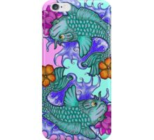 Koi Fish Twins cell phone   iPhone Case/Skin