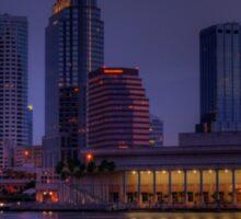 Tampa Skyline Sticker