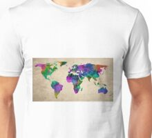 MAP of the WORLD ANTIQUE Unisex T-Shirt