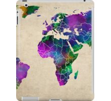 MAP of the WORLD ANTIQUE iPad Case/Skin